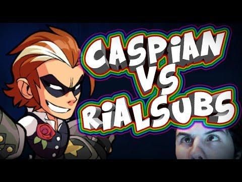 CASPIAN VS RIALSUBS | Brawlhalla Español