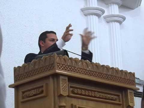 Pregação Isaias de Francisco Morato, Bem e o Mal.