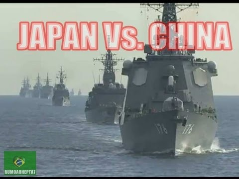 WW3: China vs Japan Islands Dispute - Japan navy tri-annual fleet review