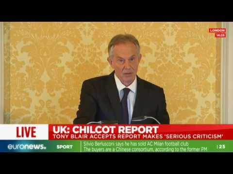 [Full speech] Tony Blair speaks after publication of Chilcot report