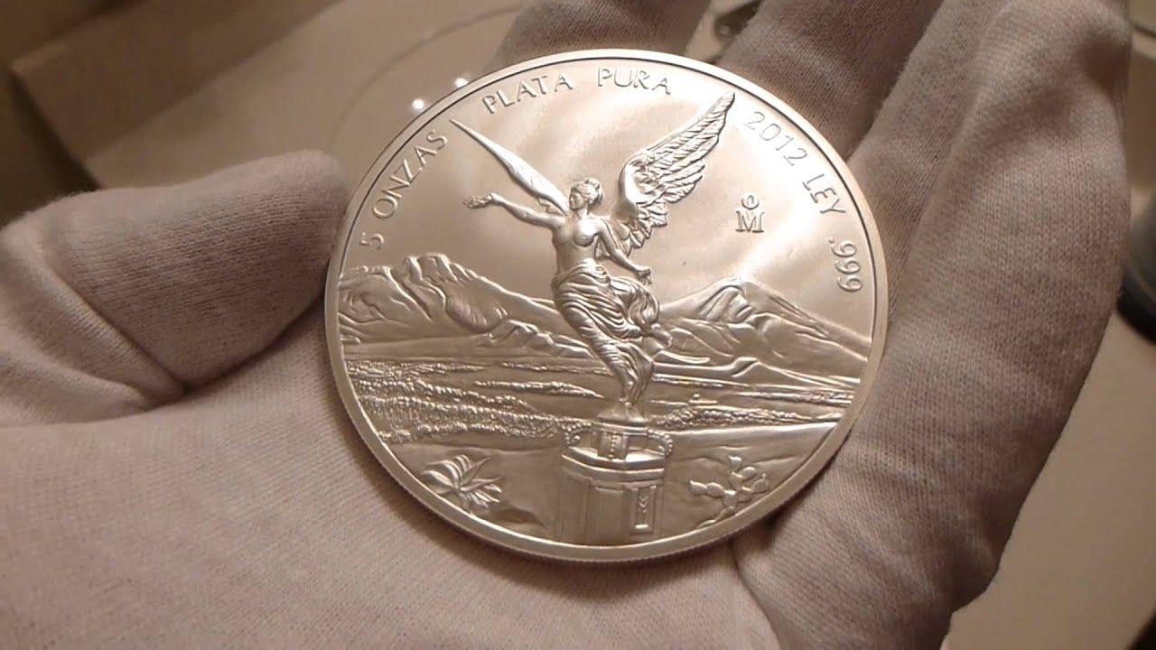 2012 Mexican Silver Libertad 5 Ounce Silver Coin Review