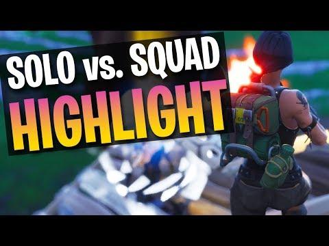 CRAZY FIGHT! Tfue 1v8 Highlight (Fortnite Battle Royale)