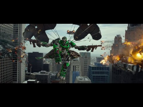 Transformers 4 (skillet-monster) video