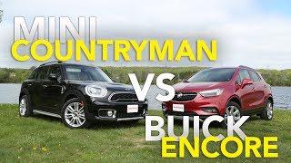 2017 MINI Countryman S vs Buick Encore Comparison