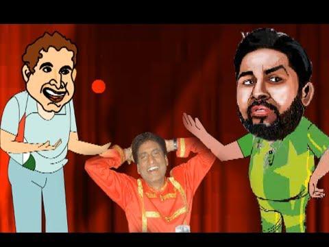 Raju Srivastav Comedy Show - Irfan Pathan Bowling vs Pakistan...