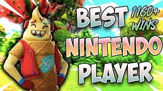 Fortnite Best Nintendo Switch Player 1160+ Wins (Solos Custom Games, Simon Says, Scrims)
