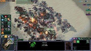 Starcraft 2 - Arcade - Direct Strike - 3vs3 - Terran - #73