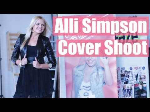Alli Simpson on her perfect boyfriend. Faze Magazine Cover Shoot.