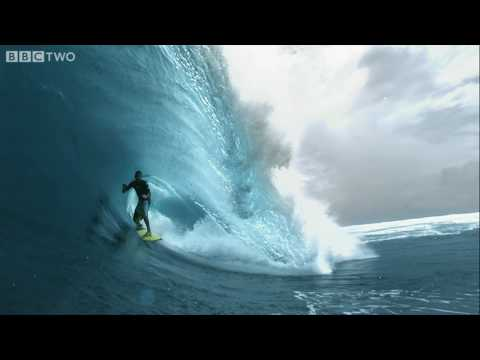 HD: Super Slo-mo Surfer! - South Pacific - BBC Two Video