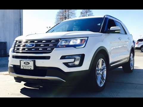 2016 Ford Explorer Limited Full Review /Start Up /Exhaust /Short Drive