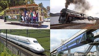Trains for Kids - Learn Train Names   Big Trains, Fast Trains   Railways Vehicles for Children