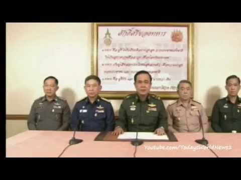Thai military seizes power in coup