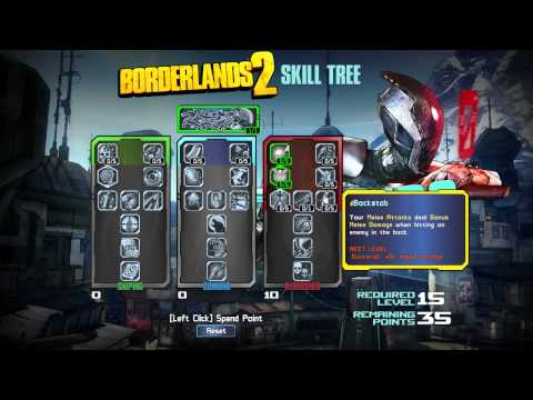Borderlands  Commando Build Deutsch