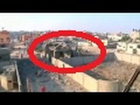 Israel vs Gaza 2014|israel back to destroy buildings in Gaza|Raw Footage