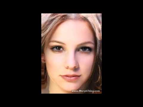 Avril Lavigne + Britney Spears Face Morph video