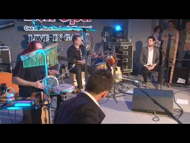 Vama Acoustic - Departe LIVE in Garajul Europa FM