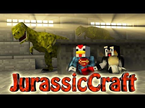 Minecraft Dinosaurs Jurassic Craft Modded Survival Ep 21 RAPTOR PACK