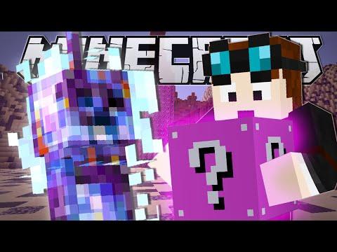 Minecraft   LUCKY ROCKET CHALLENGE (Pink Lucky Blocks!!)   Mod Minigame
