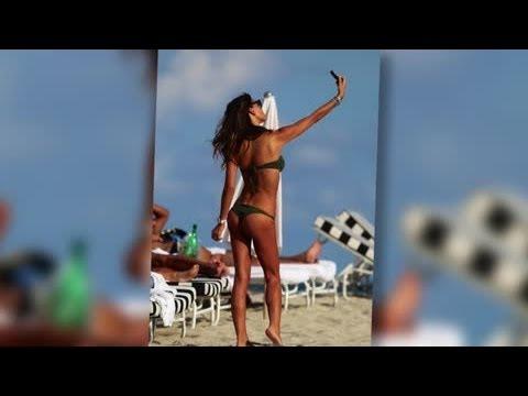 Bikini-Clad Claudia Galanti Strikes a Pose in Miami - Splash News | Splash News TV | Splash News TV