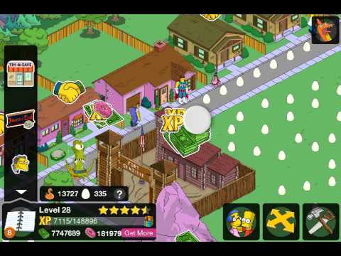 how to get old characters on simpsons tapped out