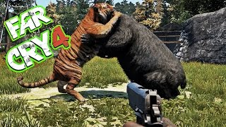 Far Cry 4 Tiger Vs Bear - Massive Battle #[Map Editor]