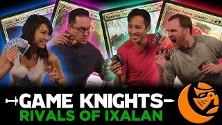 New Legends from Rivals of Ixalan | Game Knights #14 l Magic the Gathering Gameplay Commander / EDH