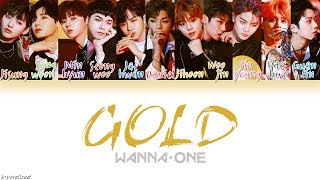 Download Song Wanna One (워너원) - GOLD [HAN|ROM|ENG Color Coded Lyrics] Free StafaMp3