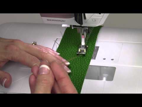 Bernina 330 13  Gathering Stitch #12