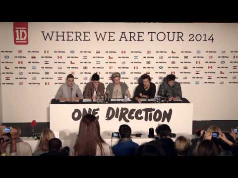 ONE DIRECTION PRESS CONFERENCE - 2014 STADIUM TOUR ANNOUNCED!!