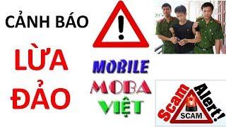 """Cảnh báo lừa đảo Mobile MOBA Việt mất tiền mất niềm tin cuộc sống """"Uống thuốc Kháng Sinh đi"""""""