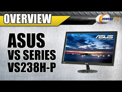 Newegg TV: ASUS VS Series LED Backlight Widescreen LCD Monitor Overview