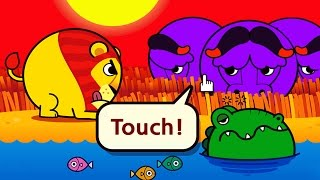 Touch! Kids Safari - best iPad Android game app for kids. Learn animals