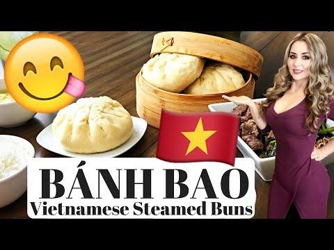 Vietnamese Steamed Buns | Bánh Bao | Easy Step-by-Step Recipe