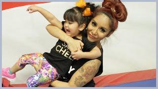 Snooki Takes Giovanna Cheerleading—Take 2!
