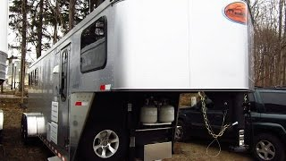 HaylettRV.com - 2015 Sante Fe 6908 Living Quarters Goosenek by Sundowner Trailers