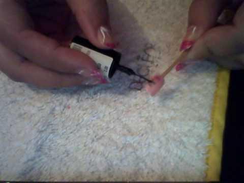 uñas cortas y decoradas