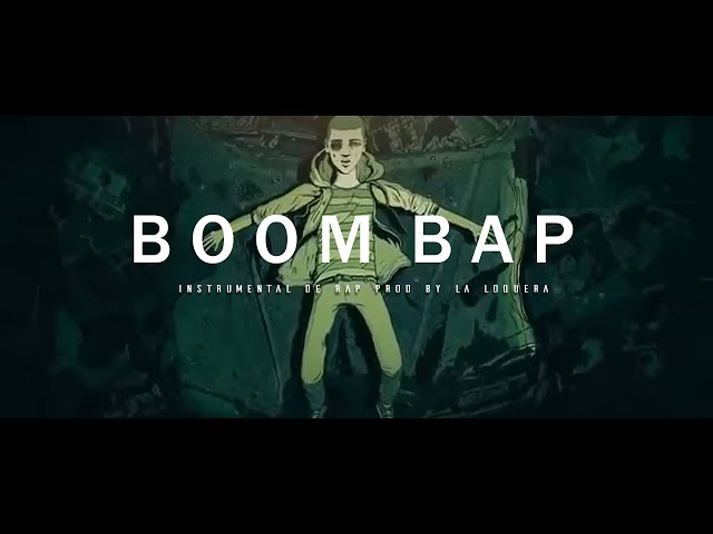 BOOMBAP SHIT - BASE DE RAP / OLD SCHOOL HIP HOP INSTRUMENTAL USO LIBRE (PROD BY LA LOQUERA 2017)