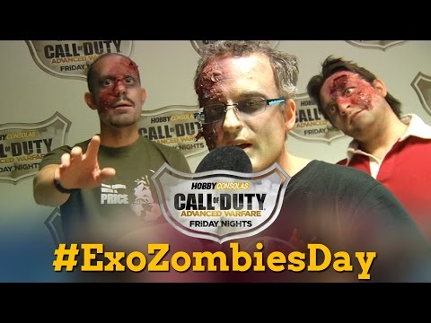 Call of Duty Friday Nights: �Zombies por un d�a!