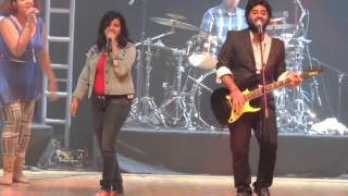 arijit singh live performance in kolkata