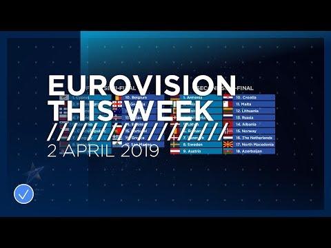 Eurovision This Week: 2 April 2019