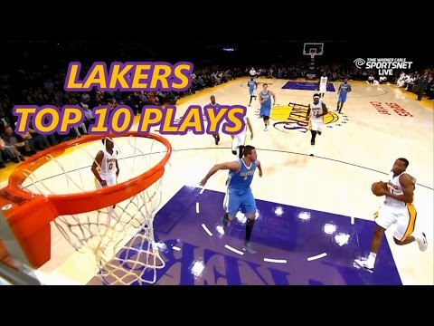Los Angeles Lakers Top 10 Plays of the 2014-2015 Season