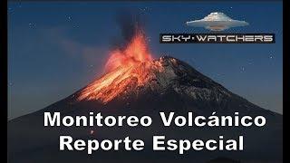 OVNI Veloz Volcán Popocatepetl
