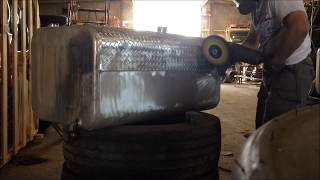 Dirty Jobs - How to Polish Aluminum Diamond/checker plate - by DC Super Shine