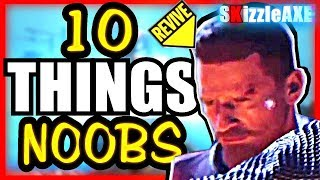 10 Things NOOBS do in zombies - Are you a NOOB? #2 (10 Mistakes Call of Duty Zombies PLAYERS Make)