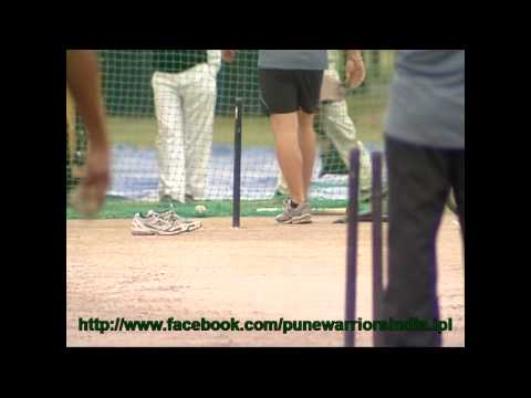 Pune Warriors Training Practice