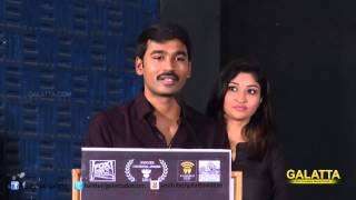 Dhanush - Producing Kaakka Muttai was a privilege   Galatta Tamil
