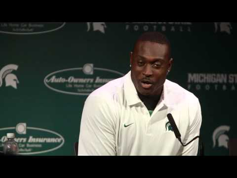 Taiwan Jones Says Michigan State Going In To Michigan Game With Underdog Mentality video