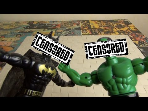 Халк против Бэтмена - ВРЕДНЫЕ ИГРУШКИ