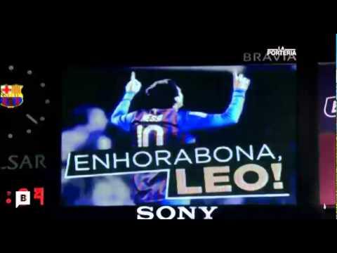 Messi, el hombre Record sin límites