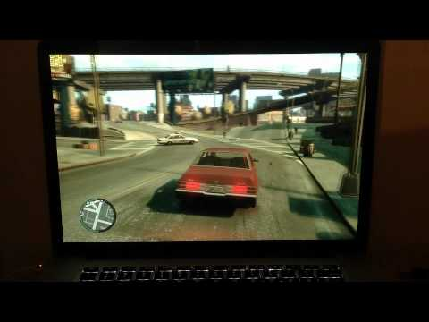 Macbook Pro Retina Display - GTA IV - Gaming Performance Test w/ Fraps [HD]